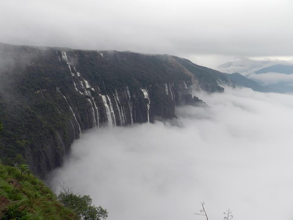 The 7 Sisters Falls